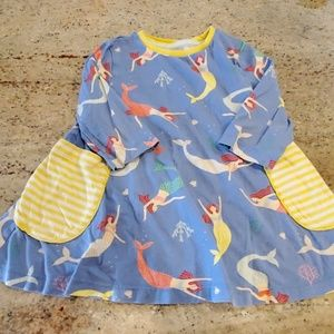 Mini Boden Mermaid Tunic Dress 3-4